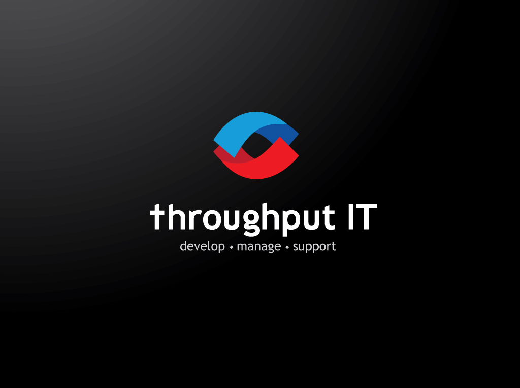 Throughput IT Logo Design
